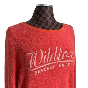 Wildfox Beverly Hills Sweatshirt Sweater Coral
